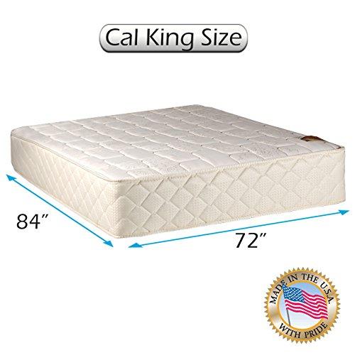 "Grandeur Deluxe California King Size (72""x84""x12"") Mattress Only - Fully Assembled, Good for your back, Superior Quality - Luxury Height, Long Lasting and 2 Sided - By Dream Solutions USA"