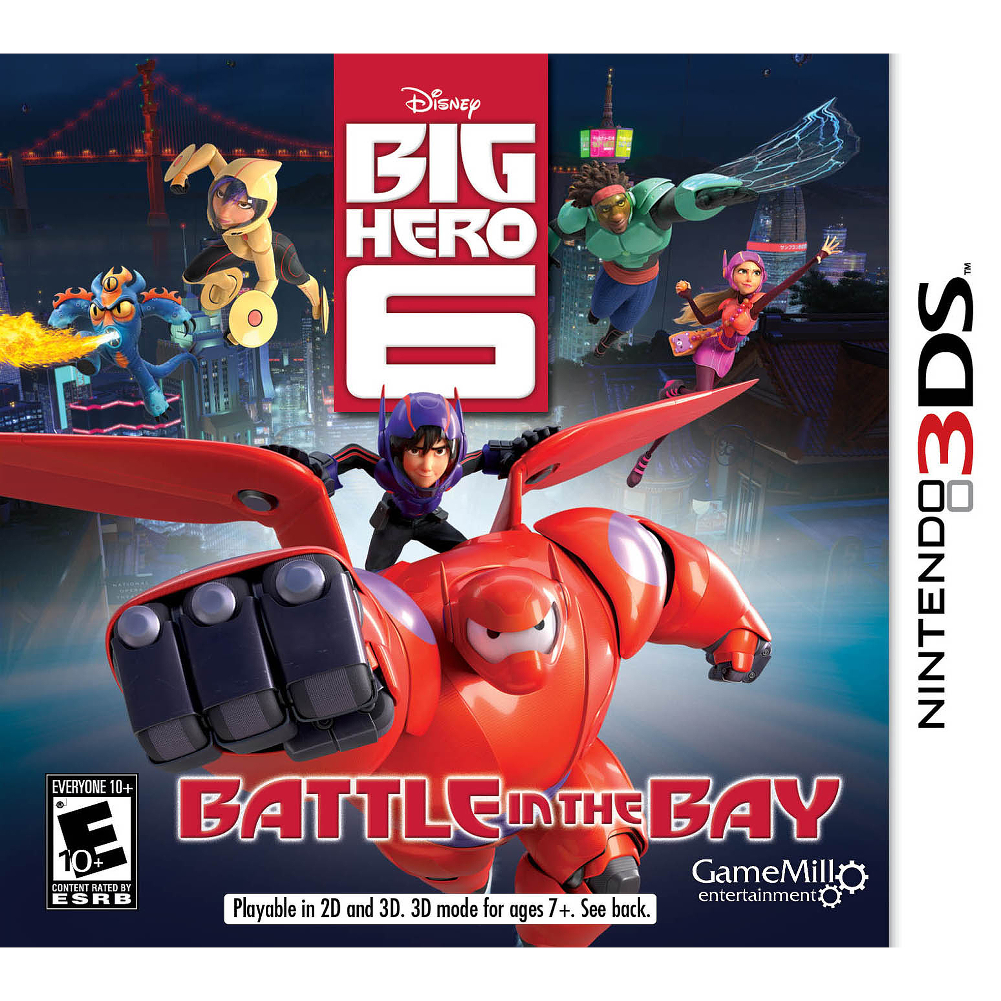 Big Hero 6 (Nintendo 3DS)