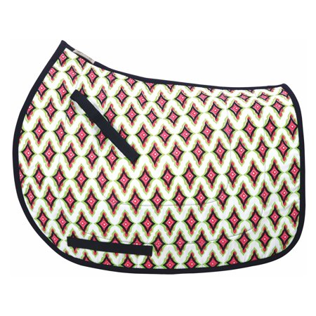 Equine Couture Caylee Cool-Ride All Purpose Saddle Pad Cotton Saddle Pads