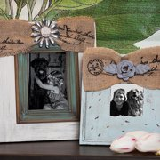 Cape Craftsmen Vintage Wooden Photo Frames Set (Set of 2)