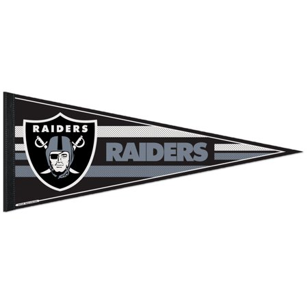 Oakland Raiders Official Nfl 12 Inch X 30 Inch  Felt Pennant By Wincraft