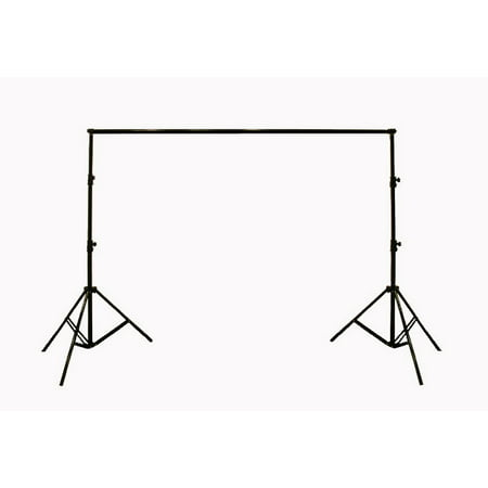 Adjustable Background Backdrop Support Stands Photography Backdrop Crossbar Frame Kit ()