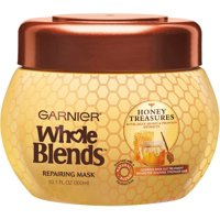 Garnier Whole Blends Repairing Mask, Honey Treasures Extracts 10.10 oz (Pack of 2)