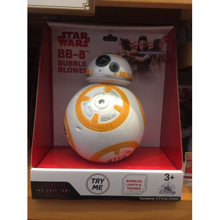 Disney Parks Star Wars Bb 8 Bubble Blower New With Box