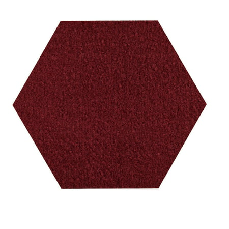 Broadway collection kids Favorite area rugs with Rubber Marine Backing for Patio, Porch, Deck, Boat, Basement or Garage with Premium Bound Polyester Edges Burgundy 15