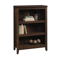 Product Image Better Homes Gardens Parker 3 Shelf Bookcase Estate Toffee Finish