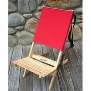 Blue Ridge Chair Works BRCH02WR Blue Ridge Chair - Red