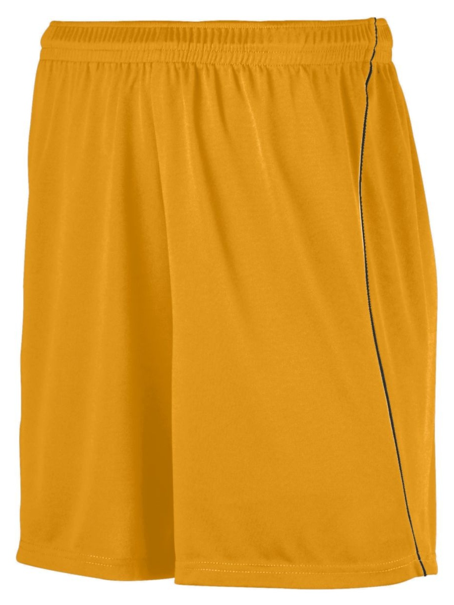 Augusta YTH WCNG SOCCER SHORT W/PIPING ROY/WHI L