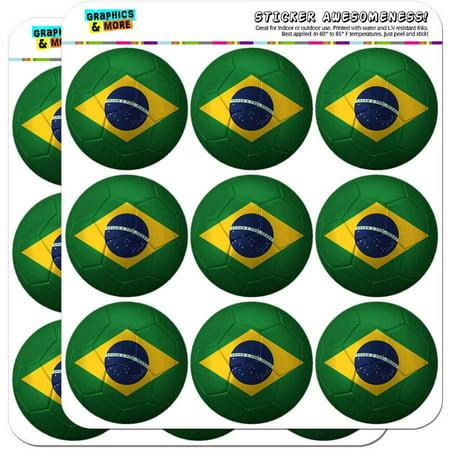 Brazil Flag Soccer Ball Futbol Football 18 2