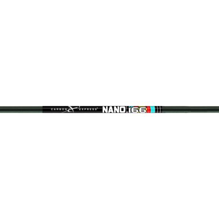 Carbon Express Nano 166 Shafts 600, 1 doz. Solid 600 Carbon