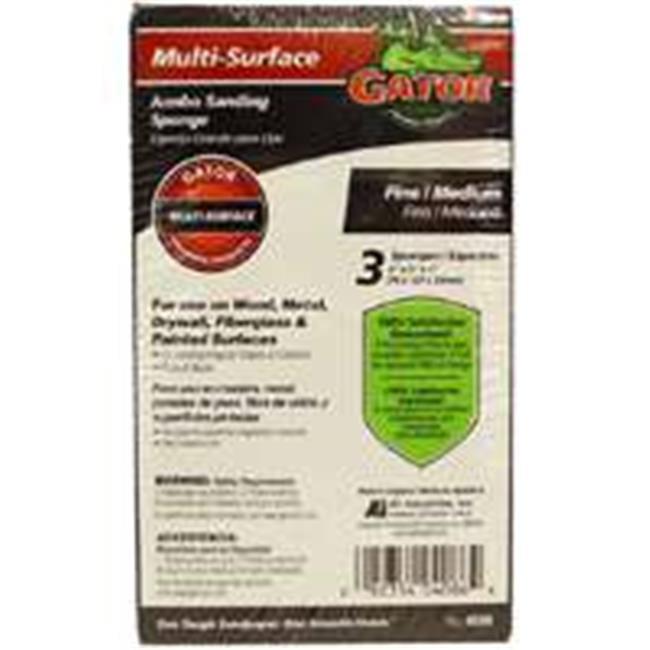 Ali Industries 4086 Jumbo Sanding Sponge Fine And Medium - image 1 of 1