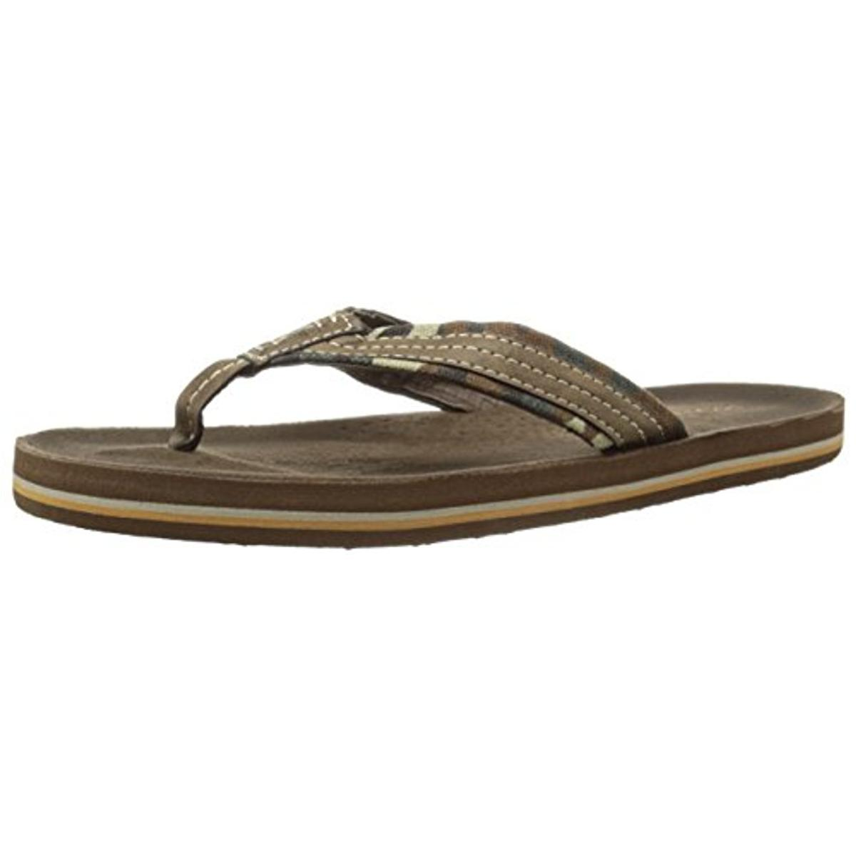 Dockers Mens Canvas Camouflage Flip-Flops by Dockers