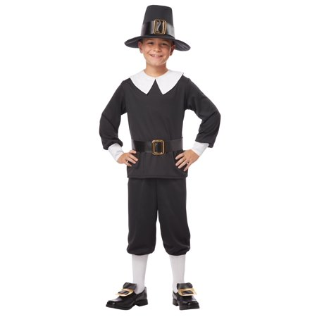 Pilgrim Boy Costume (Dog Pilgrim Costume)