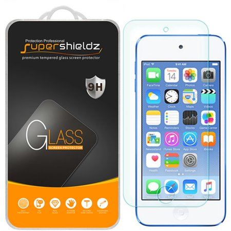 [1-Pack] Supershieldz for Apple iPod Touch (6th Generation) Tempered Glass Screen Protector, Anti-Scratch, Anti-Fingerprint, Bubble Free ()