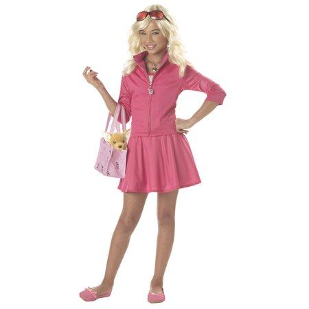 Legally Blonde Tween Costume - Blonde Female Halloween Costumes
