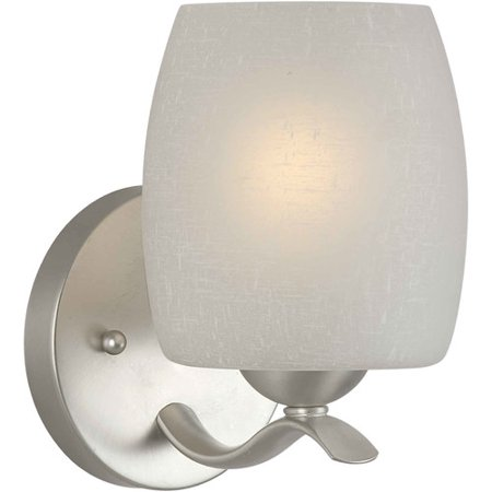 Forte Lighting 5251-01 5Wx7.25Hx6.25E Indoor Up Lighting Wall Sconce - Forte Wall Lighting