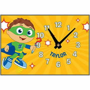 Personalized Super Why! Why Writer Desk Clock