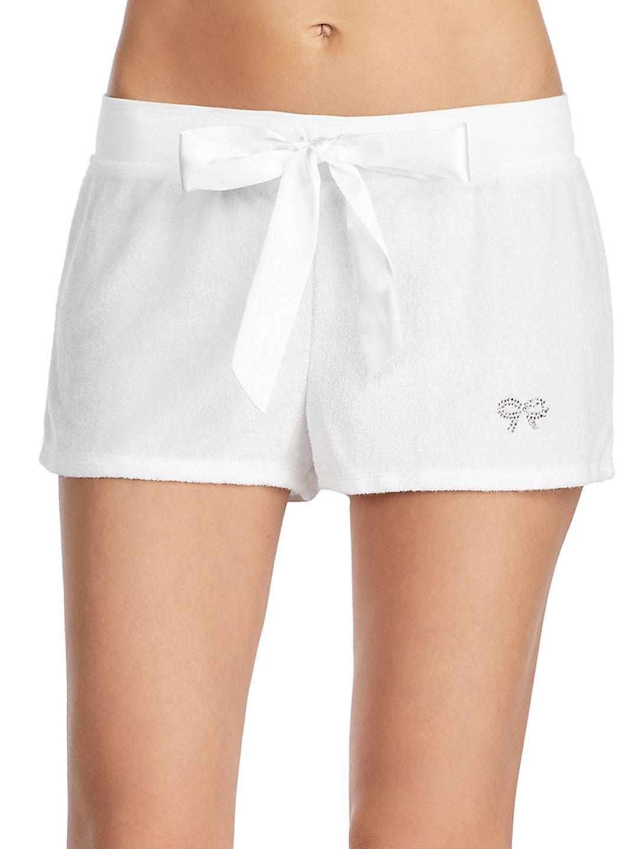 Drape Terry Shorts