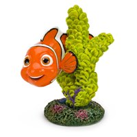"Penn-Plax Disney Finding Nemo Aquarium Ornaments - Nemo on Coral (2.5"" Tall)"