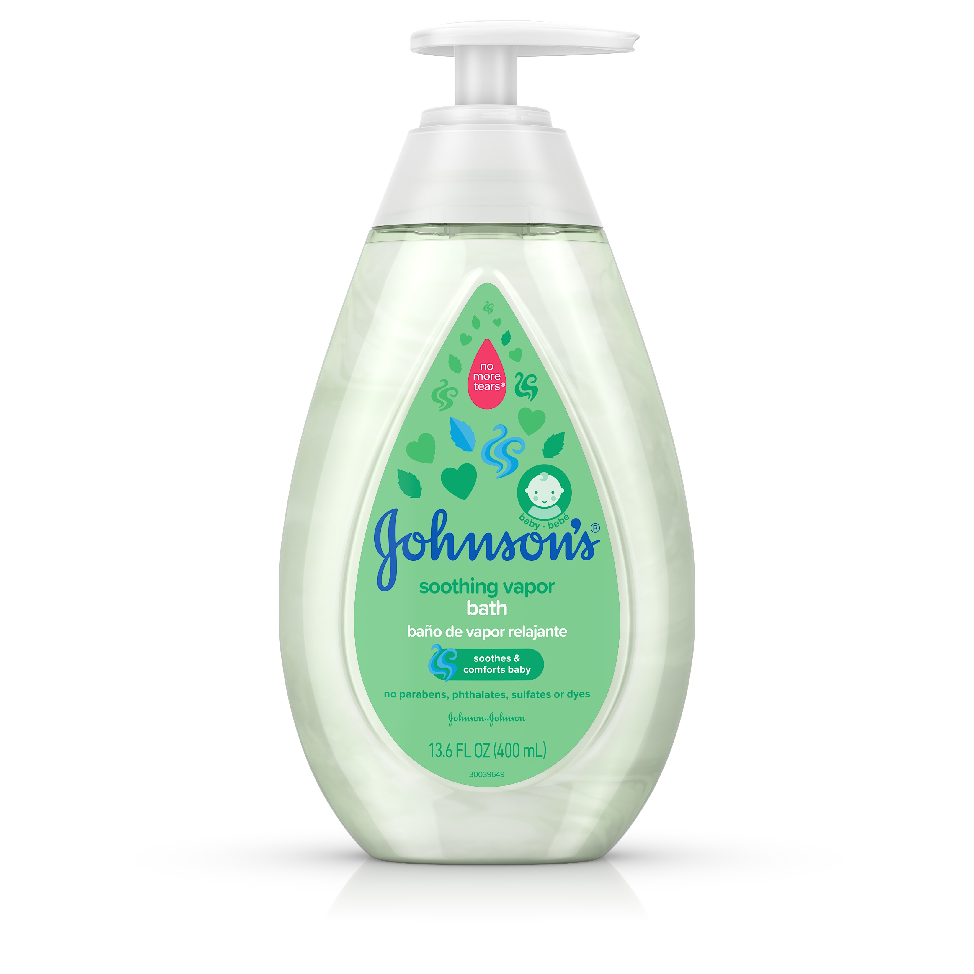 Johnsons Baby Soothing Vapor Bath to Relax Babies, 13.6 fl. oz by Johnson & Johnson