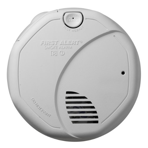First Alert FATSA320CNW Double Sensor Battery-Powered Smoke and Fire Alarm