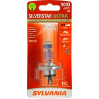 SYLVANIA 9003 SilverStar ULTRA Halogen Headlight Bulb, Pack of 1