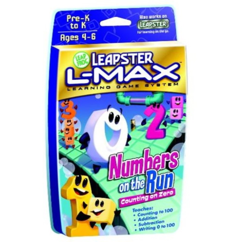leapfrog leapster l-max numbers on the run
