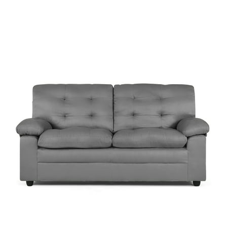 Mainstays Buchannan Upholstered Apartment Sofa, Multiple