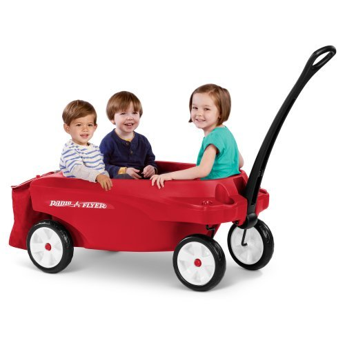 Radio Flyer Triple Play Kids Wagon