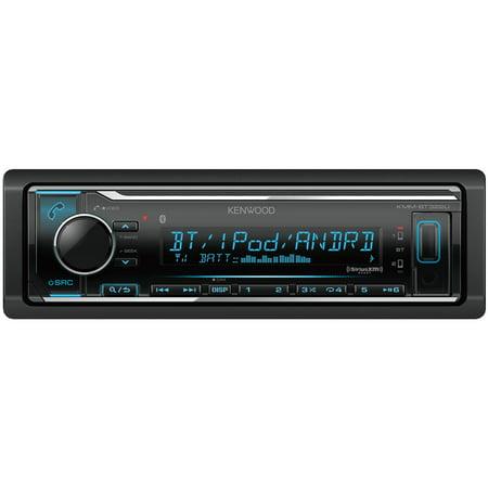 Kenwood KMM-BT322U Single-Din In-Dash Digital Media Receiver With Bluetooth & SiriusXM Ready - Kenwood Home Receivers