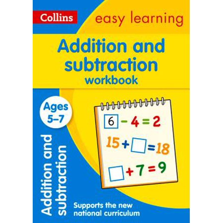 Collins Easy Learning Age 5-7 — Addition and Subtraction Workbook Ages 5-7: New Edition - Halloween Color By Number Addition And Subtraction