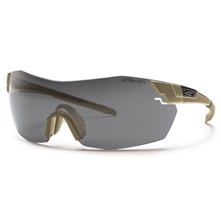 Smith Optics Pivlock V2 Max Tactical Elite Sunglasses,OS,Tan 499/Gray (Smith Sonnenbrillen Pivlock)