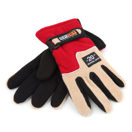Warm Fleece Women Outdoor Gloves Autumn Winter Female Sports Gloves Breathable Hunting Cycling Full Finger Gloves - image 8 of 8
