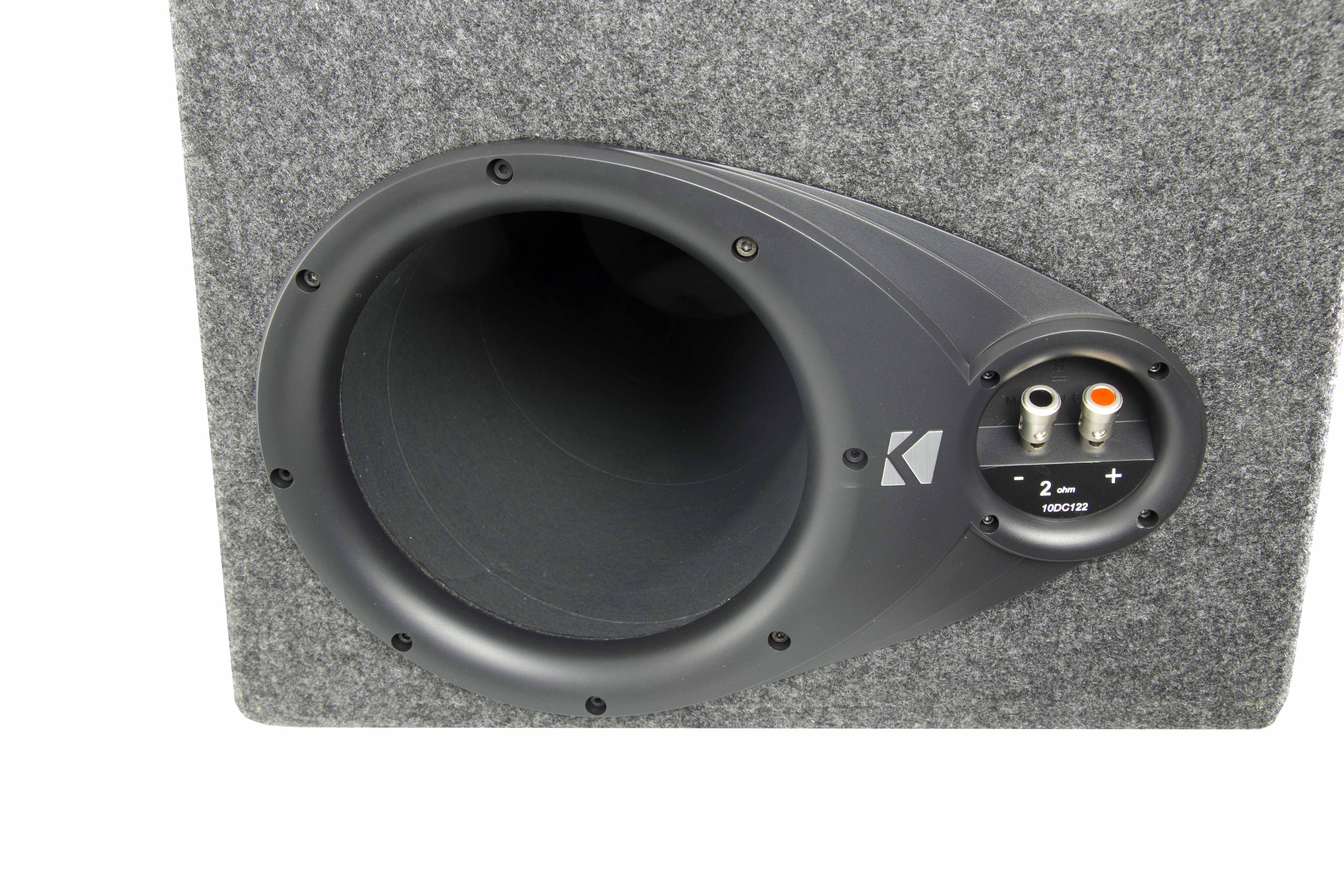 Kicker Dc12 Dual Comp 12 2 Ohm Subs In Vented Box Jeep Wrangler Speaker System Also Cvr 4 Wiring