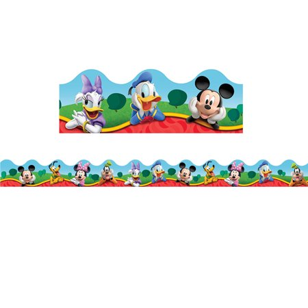 MICKEY MOUSE CLUBHOUSE CHARACTERS DECO TRIM - Mickey Mouse Club Halloween Episode