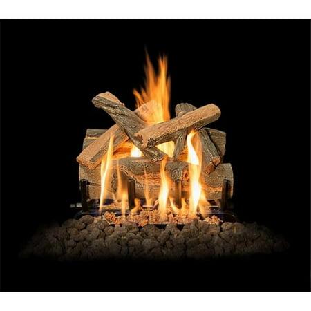 Grand Canyon Gas Logs Aj18logs 2brn 18 Arizona Juniper Logs With 2 Burner 18 In 6 Piece