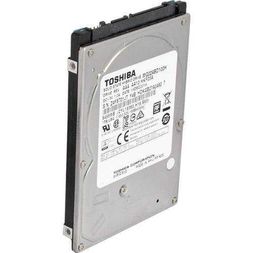 "Toshiba 1 TB 2.5"" Internal Hybrid Hard Drive - 8 GB SSD Cache Capacity - SATA - 5400 - 64 MB Buffer"