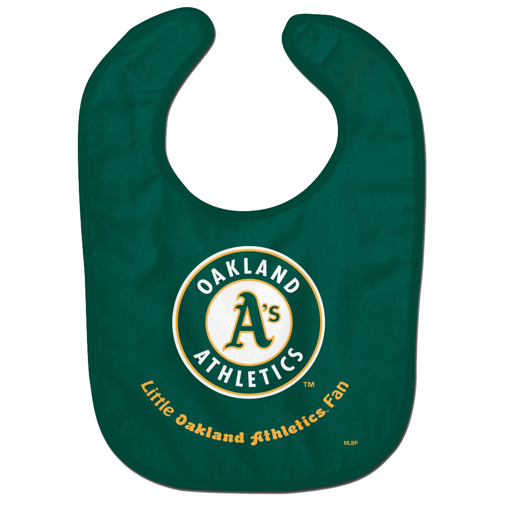 Oakland Athletics WinCraft Infant Lil Fan All Pro Baby Bib - No Size