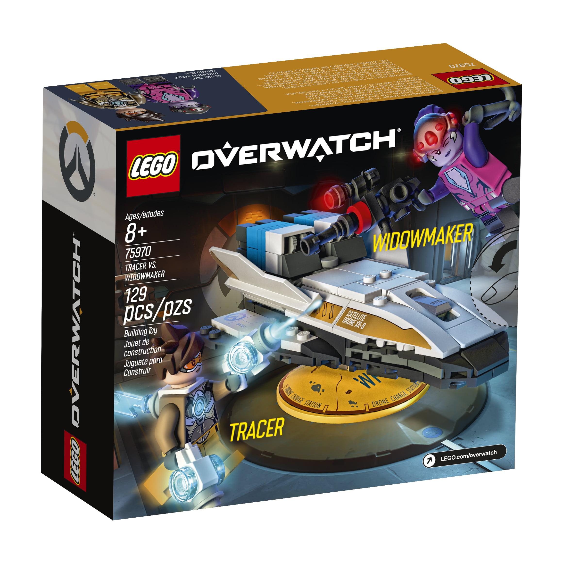 Brand New LEGO® Overwatch Tracer Vs Widowmaker Building Set 75970.