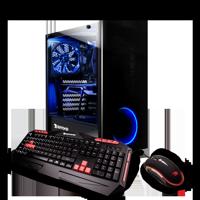 iBUYPOWER WA095i - Gaming Desktop PC - Intel i5 9400F- 8GB DDR4 2666Memory - NVIDIA GeForce GTX 1650 - 120GB SSD - 1TB Hard Drive - Wi-Fi - RGB - Windows 10 Home 64-Bit