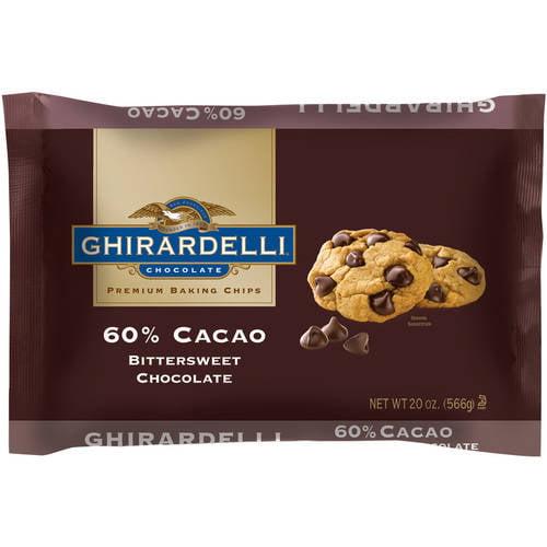 Ghirardelli 60% Cacao Bittersweet Chocolate, 20 oz