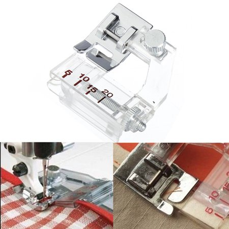 Ajustable Binding Snap-on Bias Binder Presser Foot For Domestic Sewing Machine