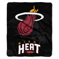 "Miami Heat The Northwest Company 50"" x 60"" Arc Raschel Throw Blanket - No Size"