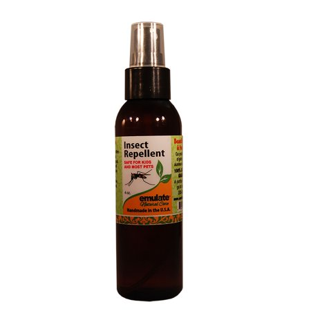 - Moringa Natural Insect Repellent emulate Natural Care 4 oz Spray