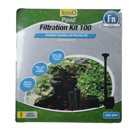 Tetra Pond Filtration Fountain Kit FK3 - 325 GPH - For Ponds up to 100 Gallons