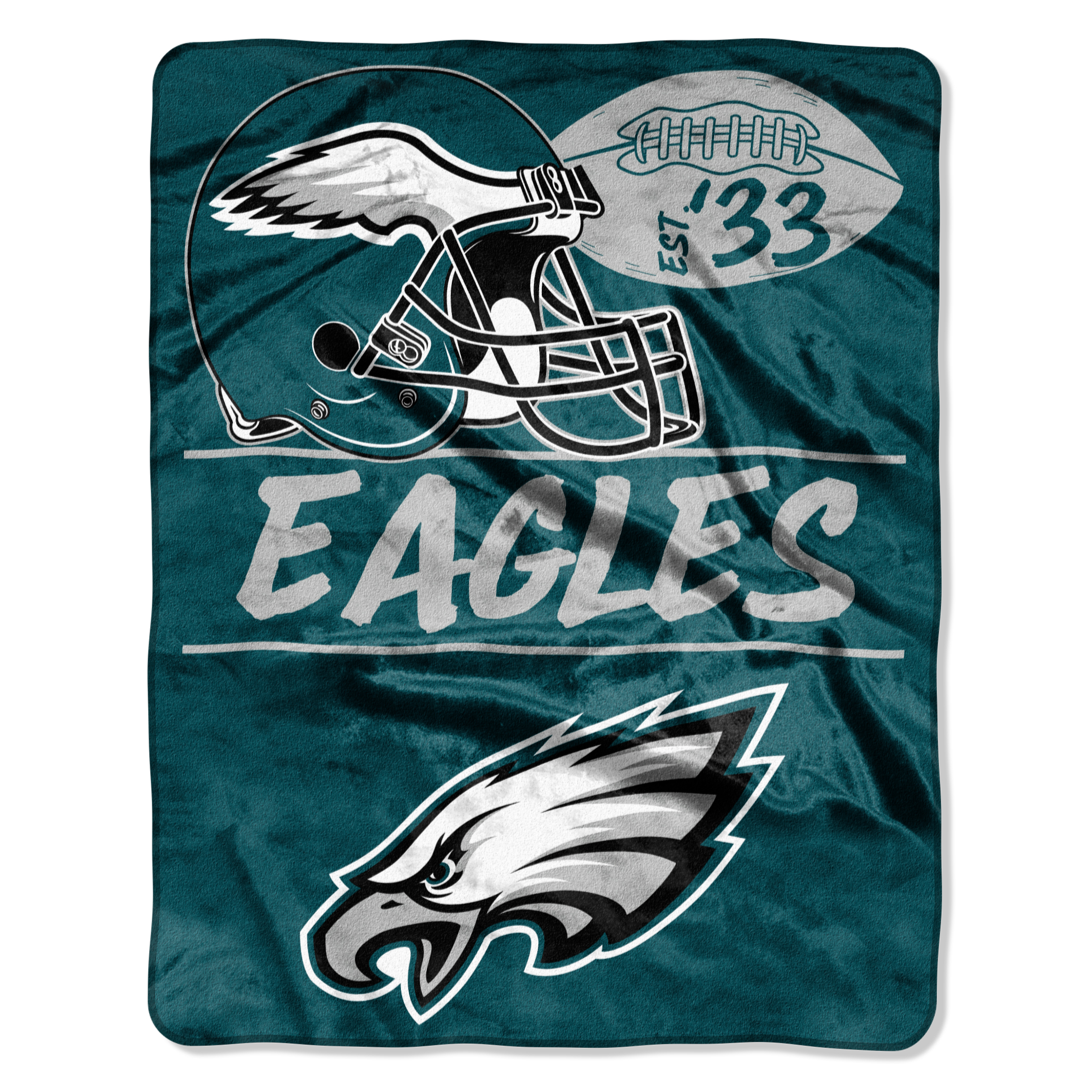 "NCAA Philadelphia Eagles ""Conference"" 55"" x 70"" Silk Touch Throw, 1 Each"