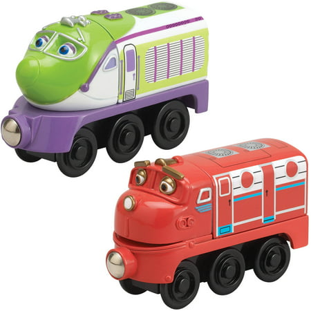 TOMY Chuggington Wooden Railway, Wilson and Koko Bundle ...