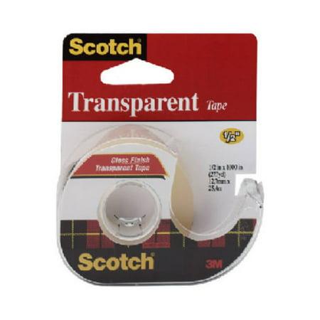 3M COMPANY 144 1/2x450 Transparent