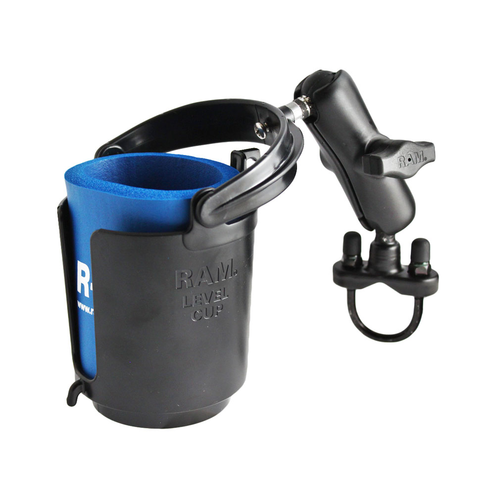 RAM MOUNT DRINK CUP HOLDER W/ U-BOLT BASE