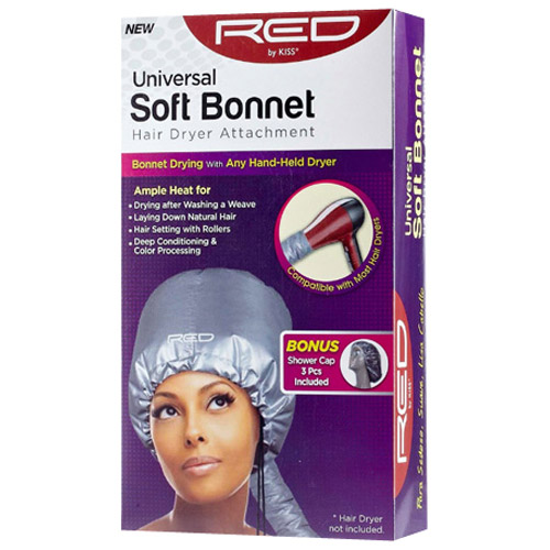 Red by Kiss(r) Universal Soft Bonnet Hair Dryer Attachment